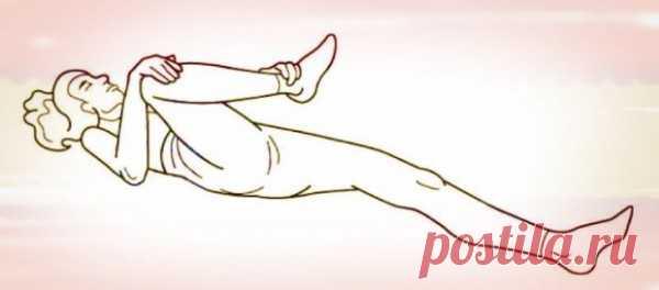 2 упражнения, которые помогут уменьшить боли в спине и ускорить выздоровление.