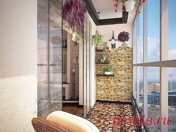 Идея для балкона.