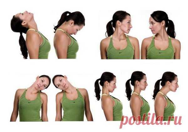 5 упражнений против остеохондроза