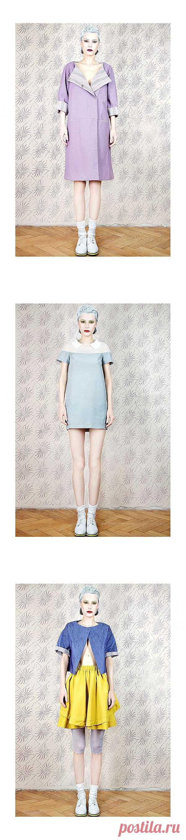 Gosia Sobiczewska весна/лето 2012 / Лукбуки / Модный сайт о стильной переделке одежды и интерьера