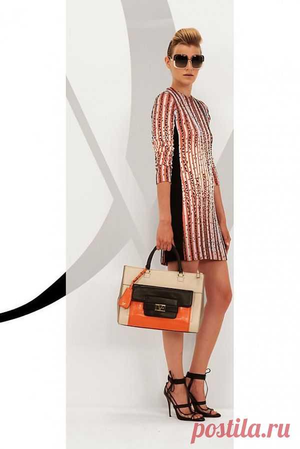 Платье Diane von Furstenberg Resort 2013 / Платья Diy / Модный сайт о стильной переделке одежды и интерьера