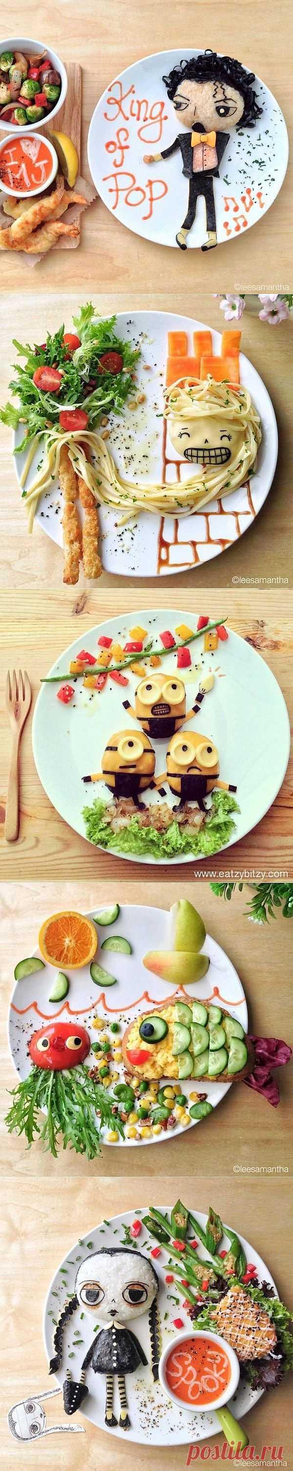 (+1) - Креативные завтраки для детей от находчивой мамы (ФОТО) | О наших детях