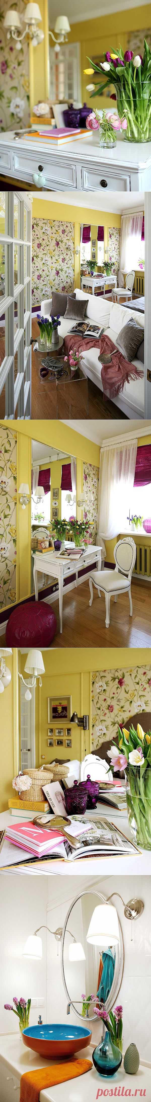 Дизайн интерьера квартиры от Галины Юрьевой   Фотографии красивых интерьеров