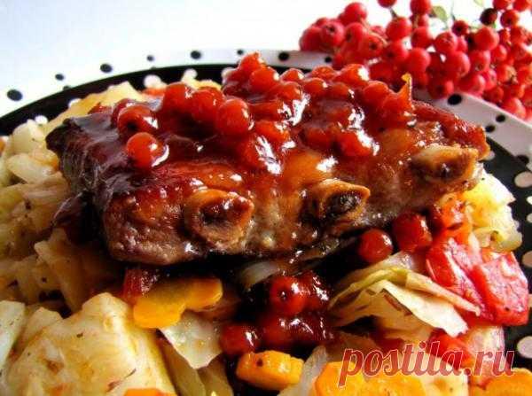 Тушеная свинина с вареньем - отличное блюдо на праздник