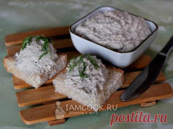 Рыбный паштет с грецким орехом — рецепт с фото