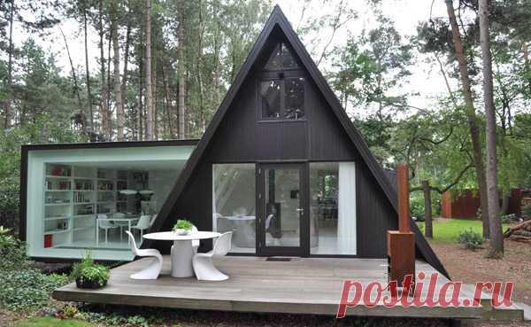 Современный минималистский дом по проекту dmvA— Статьи