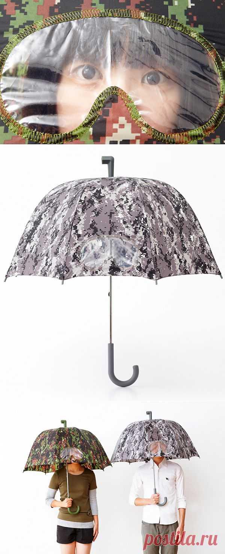 Зонтик шпиона / Аксессуары (не украшения) / Модный сайт о стильной переделке одежды и интерьера