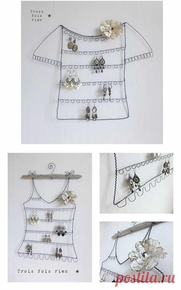 Хранение украшений (DIY) / Организованное хранение / Модный сайт о стильной переделке одежды и интерьера