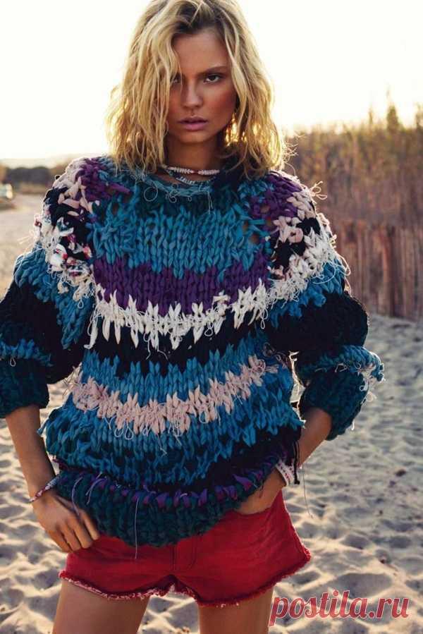 Джемпер для морских прогулок Модная одежда и дизайн интерьера своими руками
