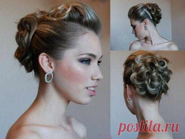 The best hairdresses on a graduation party of 2013