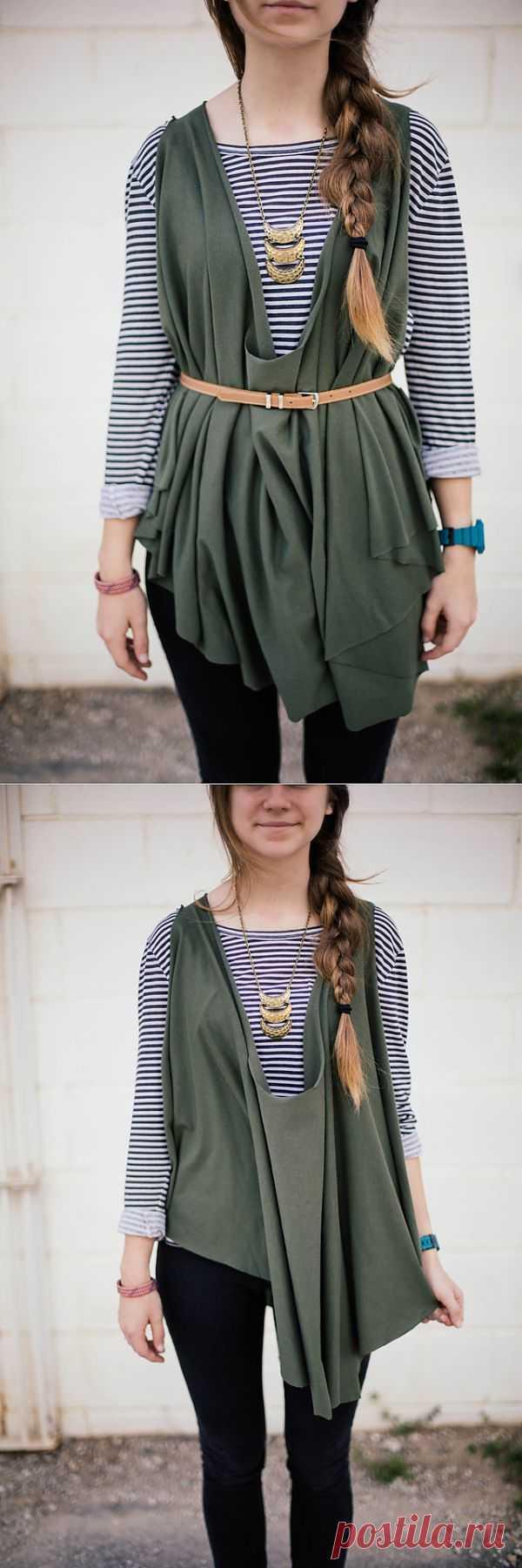Хламида (выкройка) / Простые выкройки / Модный сайт о стильной переделке одежды и интерьера