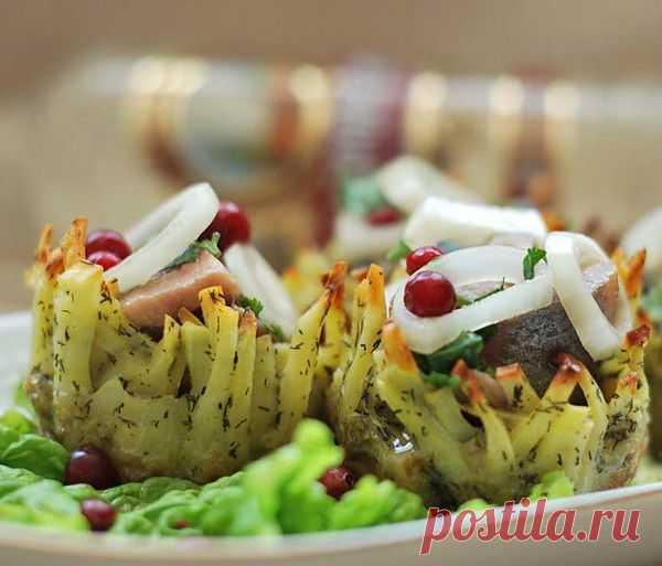 Селедочка в картошечке