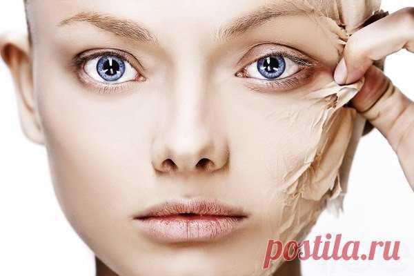 Японский метод избавления от омертвевших клеток с кожи, делая лицо фарфоровым и гладким! Минус 15 лет!