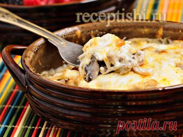 Жюльен (жульен) с курицей и грибами | Кулинарные рецепты с фото