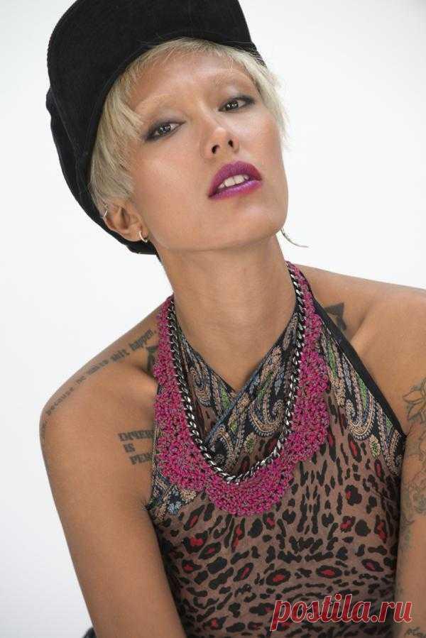Вязаные украшения из цепочек (трикотаж) (трафик) / Дизайнеры / Модный сайт о стильной переделке одежды и интерьера