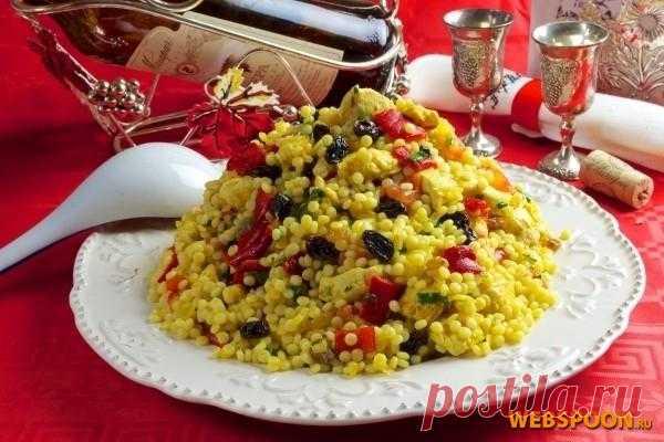 Кускус с курицей рецепт с фото на Webspoon.ru