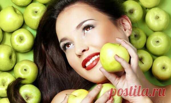 Сильные маски от морщин из яблок. Копеечная цена, заметный эффект | Женский мир | Яндекс Дзен