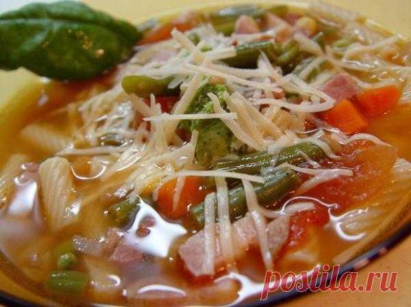 Итальянский суп.