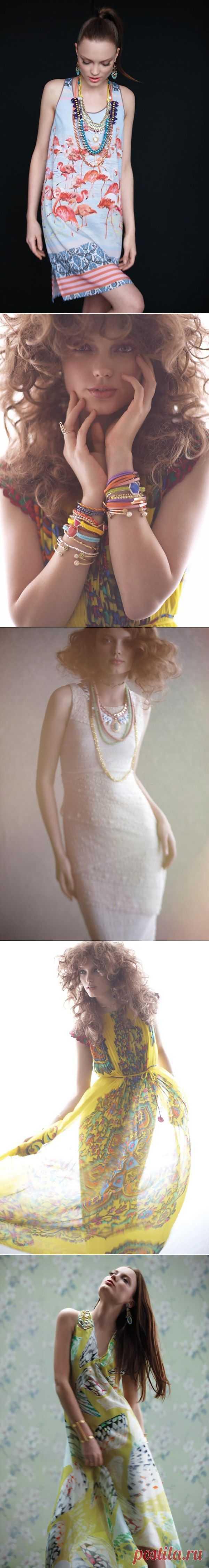 Jewelry layering by Anthropologie May 2012 (трафик) / Украшения и бижутерия / Модный сайт о стильной переделке одежды и интерьера