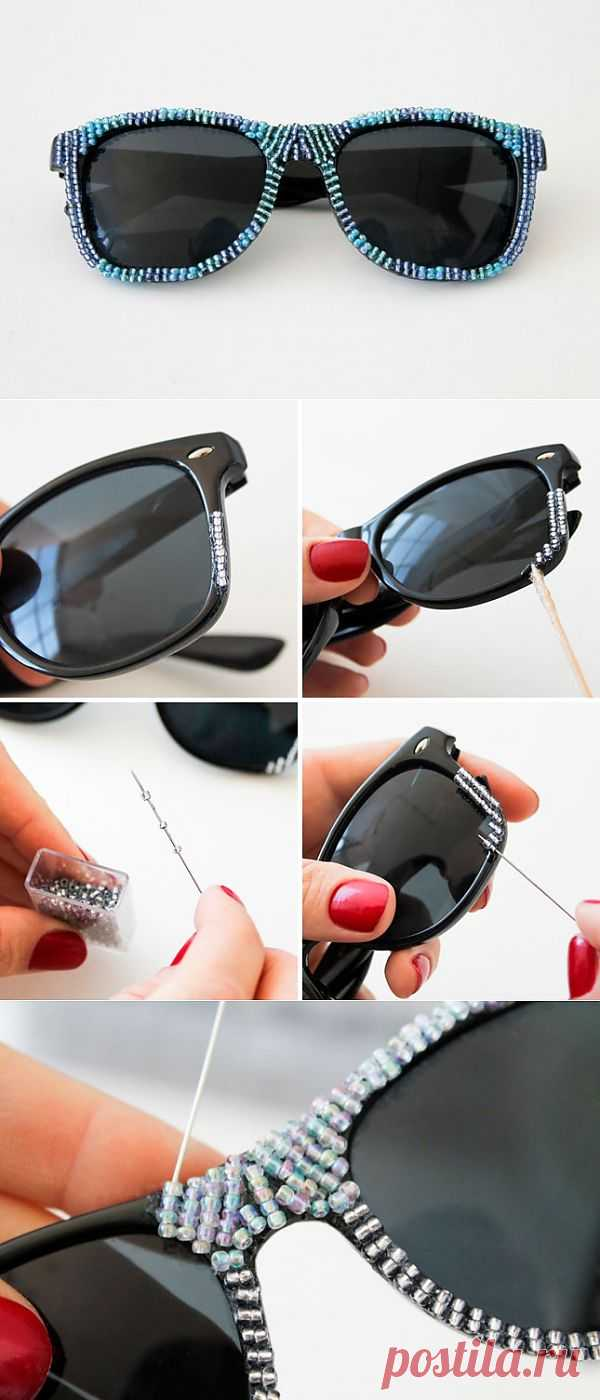 Бисерная оправа очков (Diy) / Декор очков / Модный сайт о стильной переделке одежды и интерьера