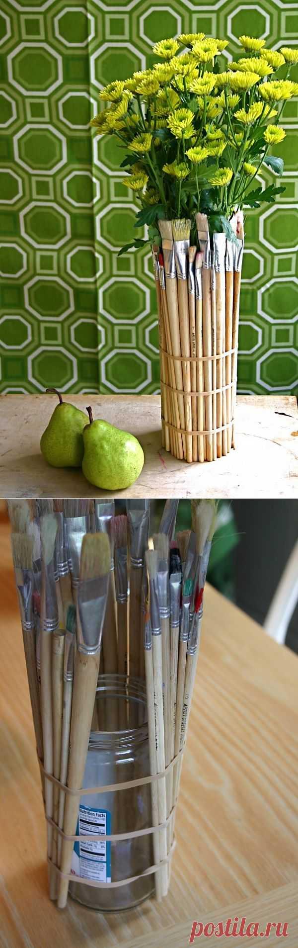 Живописная ваза (Diy) / Цветы / Модный сайт о стильной переделке одежды и интерьера