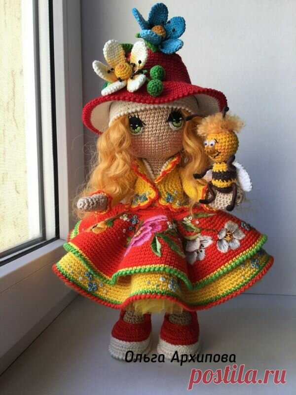 Куклы Ольги Архиповой...вдруг мелькнула красота... | Дамское танго | Яндекс Дзен