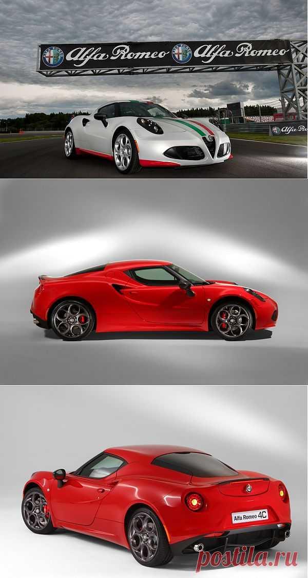 Alfa Romeo 4C Safety Car Revealed