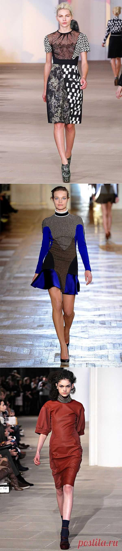 Подиумный пэчворк (трафик) / Пэчворк / Модный сайт о стильной переделке одежды и интерьера