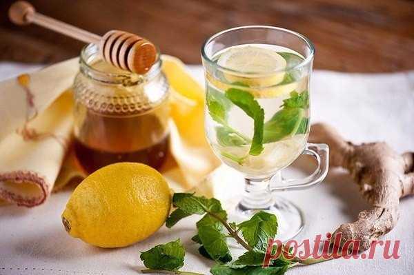Противовоспалительный чай из куркумы и имбиря.