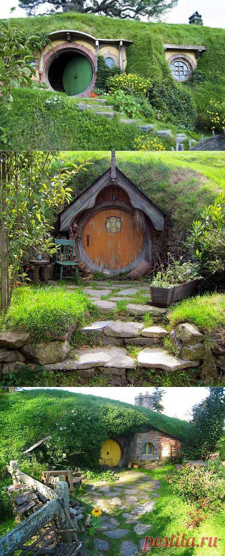 Путешествие в сказочный Хоббитон. Новая Зеландия.
