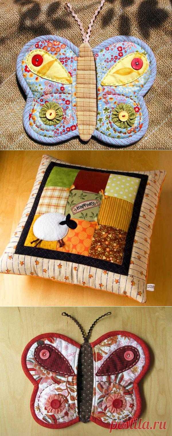 Пэчворк - уют из текстильных лоскутов.