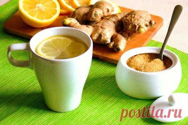 Лучшие рецепты имбирного чая.