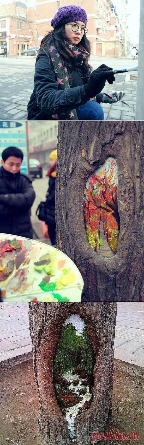 Необычный Street Art / Городская среда (граффити, снеговики, ets) / Модный сайт о стильной переделке одежды и интерьера