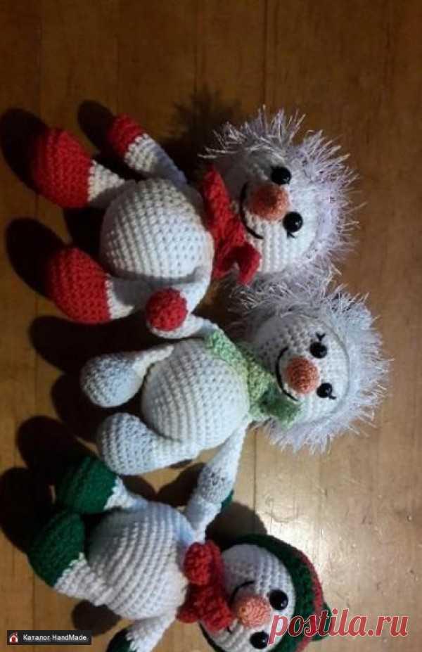 Новогодний снеговик, отличный подарок купить в Беларуси HandMade, цены в интернет магазинах