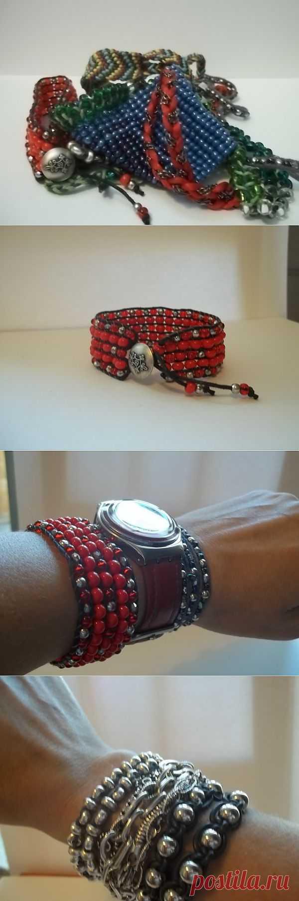 Это мои браслеты / Украшения и бижутерия / Модный сайт о стильной переделке одежды и интерьера