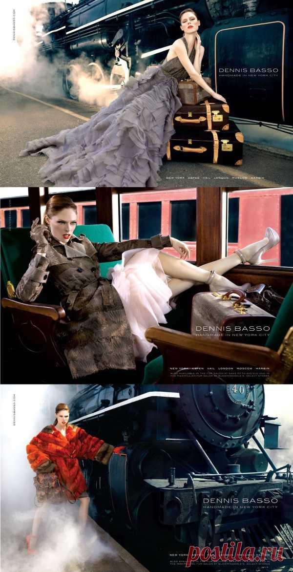 Образ Анны Карениной в модной фотосессии Dennis Basso