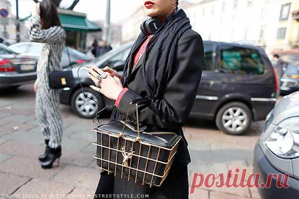 Модная корзинка из супермаркета / Сумки, клатчи, чемоданы / Модный сайт о стильной переделке одежды и интерьера