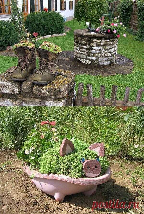 Садовый дизайн. Красиво.