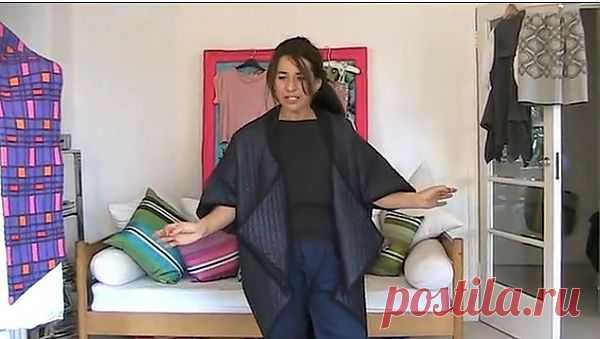 Крутейшее пальто за 30 минут! / Простые выкройки / Модный сайт о стильной переделке одежды и интерьера