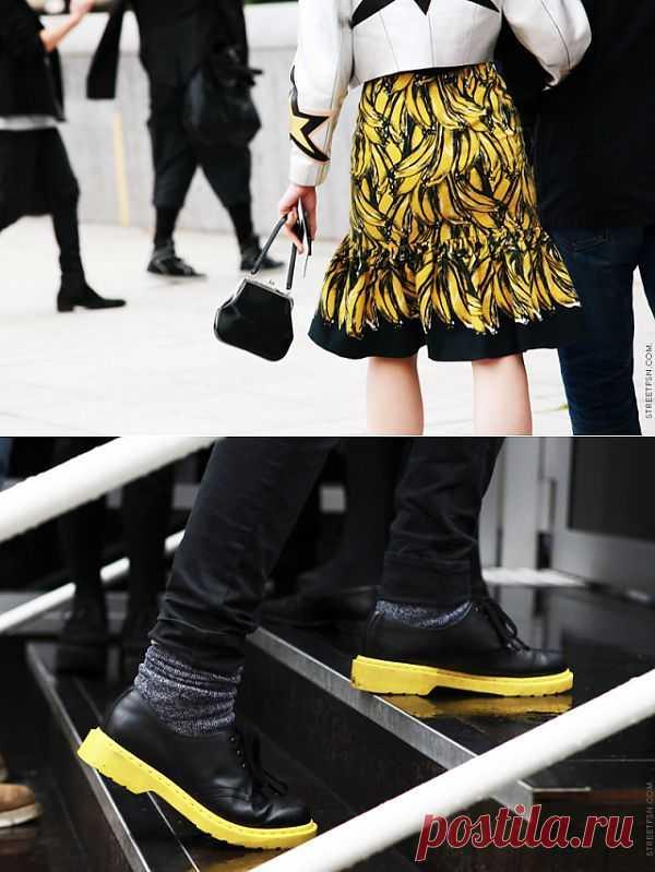 Желтый Street Style (трафик) / Street Style / Модный сайт о стильной переделке одежды и интерьера