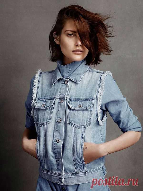 Зачем нужны две одинаковые джинсовки / Курточные переделки / Модный сайт о стильной переделке одежды и интерьера
