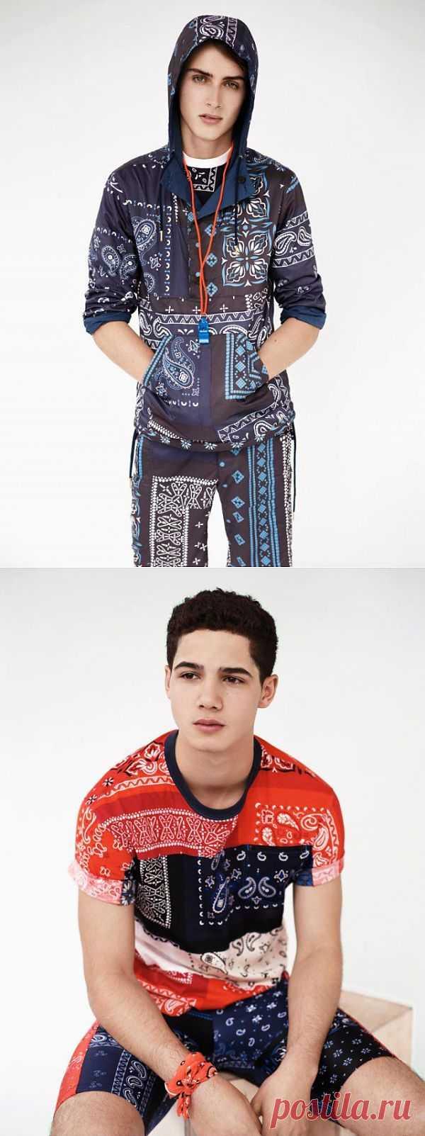 Adidas Originals Opening Ceremony / Платки / Модный сайт о стильной переделке одежды и интерьера