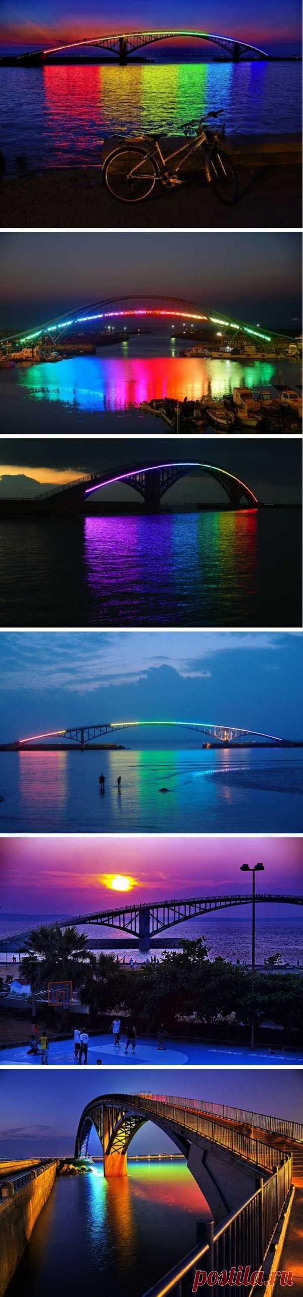 Ночная сказка. Радужный мост. Магонга, Тайвань