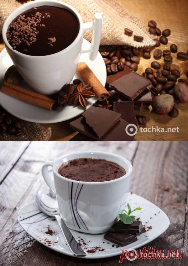 Горячий шоколад с виски