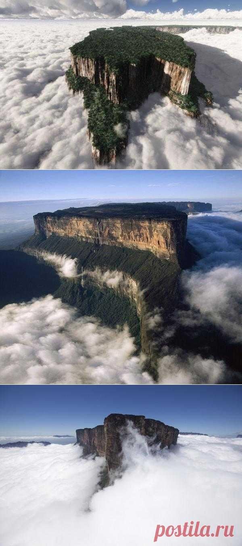 Затерянный мир существует в реальности - Столовые горы тепуи в Венесуэле (Всего 21 фото)