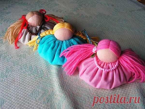 Мастер класс по изготовлению куклы зерновушки / Вальдорфская кукла / PassionForum - мастер-классы по рукоделию