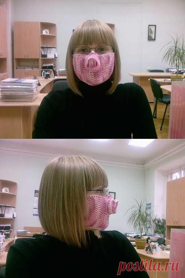 Звероконкурс : Свиномаска / Вязание / Модный сайт о стильной переделке одежды и интерьера