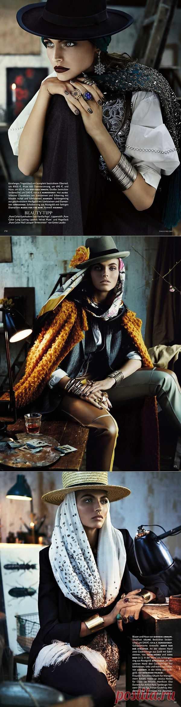 Деревенский денди (Vogue Germay May 2013) / Обзор журналов / Модный сайт о стильной переделке одежды и интерьера