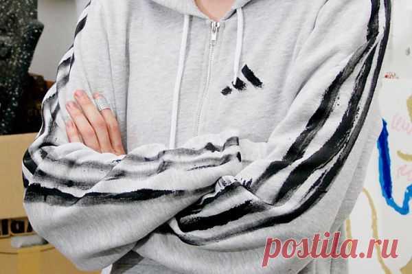 Да здравствует Abibas! / Пачкаем / Модный сайт о стильной переделке одежды и интерьера