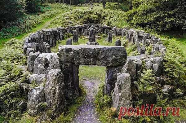 Historical Druids Temple  Free Stock Photo HD - Public Domain Pictures